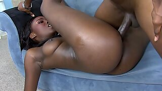 College babe anal on real homemade
