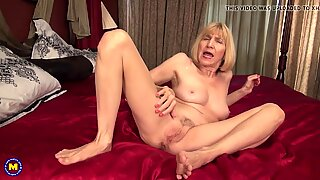 nasty grandmother with hungry puss and ass