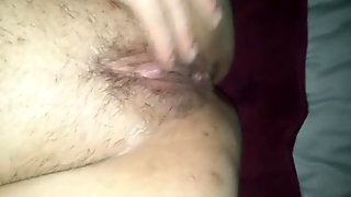 Deep throating wife squirts