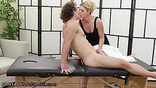 MILF India Summer Massages Her Teen Crush